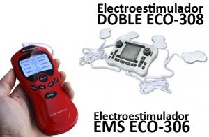 Electroestimulador  ECO-DE. Dos modelos a elegir