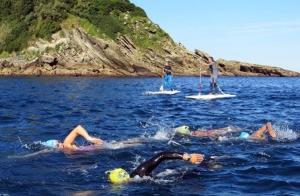 Taller de aguas abiertas y triatlón