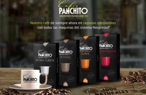 Pack de 50 o 100 cápsulas de Cafés Panchito