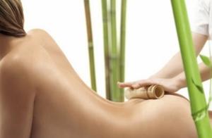Masaje exótico con caña de bambú ¡puro relax!