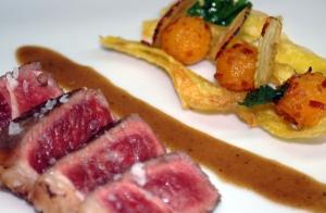 El restaurante Iturralde nos sorprende con un espectacular menú