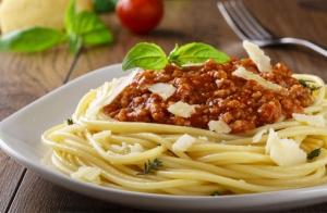 Completo menú con todo el sabor de Italia