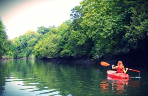 Paseo en Kayak o en Canoa Canadiense por el Urumea
